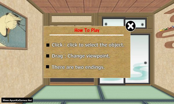 Escape the Ninja Room Screenshot 1, Full Version, PC Game, Download Free