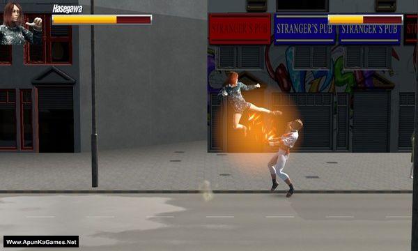 Massive Air Combat - Karate Hasegawa Screenshot 1, Full Version, PC Game, Download Free