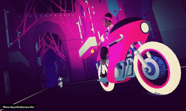 Sayonara Wild Hearts Screenshot 1, Full Version, PC Game, Download Free