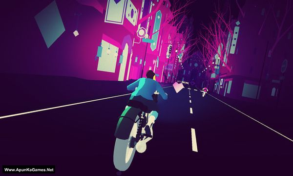 Sayonara Wild Hearts Screenshot 3, Full Version, PC Game, Download Free