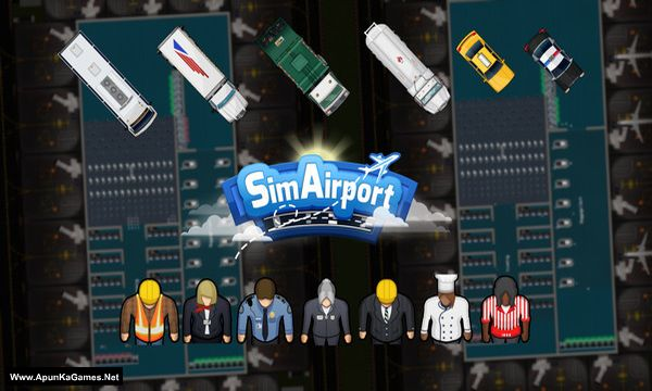 SimAirport Screenshot 1, Full Version, PC Game, Download Free