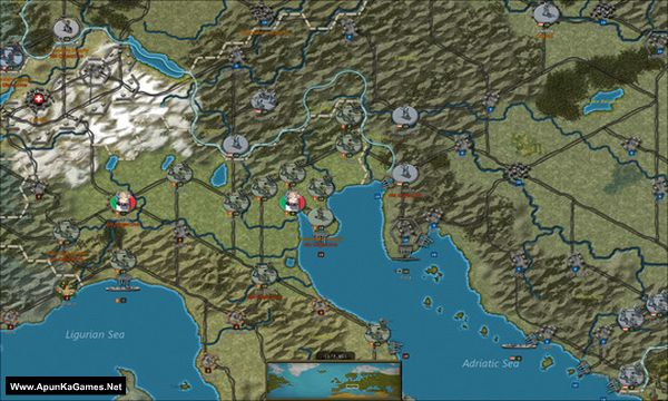 Strategic Command: World War I Screenshot 1, Full Version, PC Game, Download Free