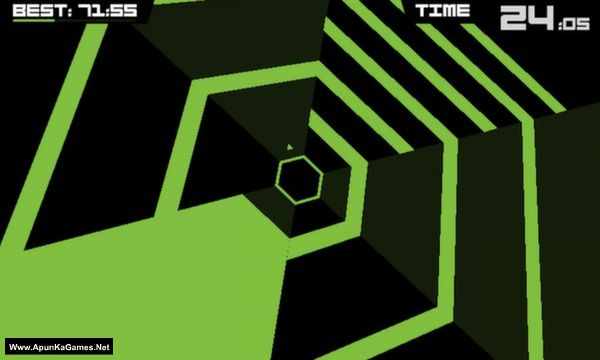 Super Hexagon Screenshot 1, Full Version, PC Game, Download Free