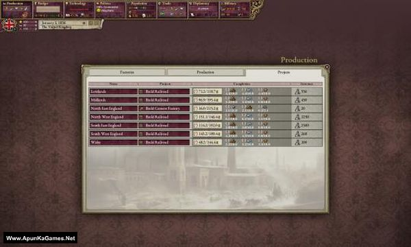 Victoria II Screenshot 2, Full Version, PC Game, Download Free