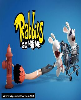 Rabbids Go Home Cover, Poster, Full Version, PC Game, Download Free