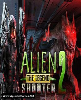 Alien Shooter 2 - The Legend Cover, Poster, Full Version, PC Game, Download Free