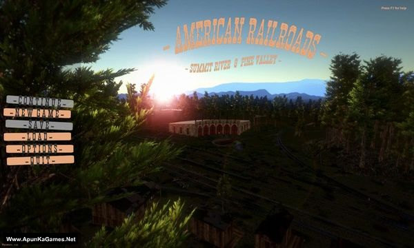 American Railroads - Summit River and Pine Valley Screenshot 1, Full Version, PC Game, Download Free