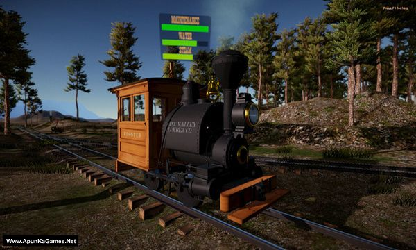 American Railroads - Summit River and Pine Valley Screenshot 2, Full Version, PC Game, Download Free