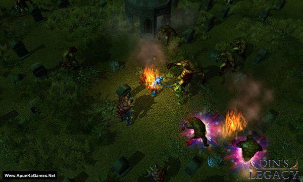 Din's Legacy Screenshot 1, Full Version, PC Game, Download Free
