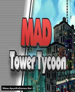 Mad Tower Tycoon Cover, Poster, Full Version, PC Game, Download Free