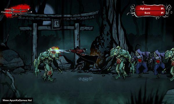 Musashi vs Cthulhu Screenshot 1, Full Version, PC Game, Download Free