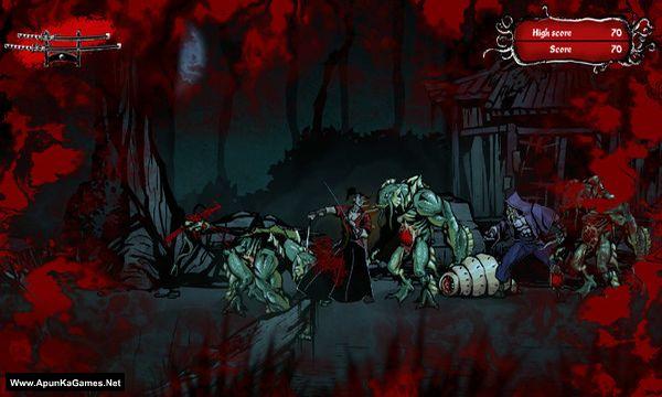 Musashi vs Cthulhu Screenshot 3, Full Version, PC Game, Download Free