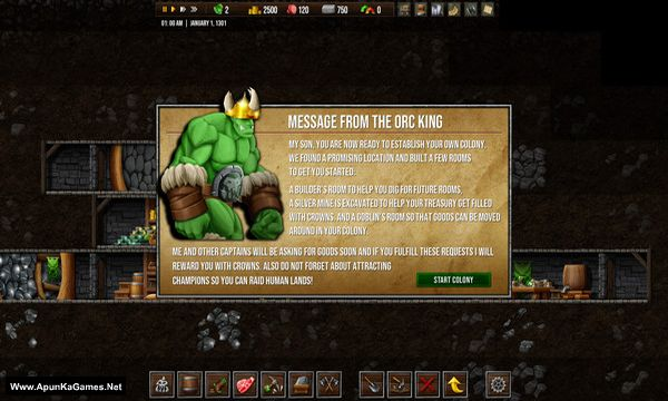 Orc Colony Screenshot 3, Full Version, PC Game, Download Free