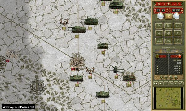 Panzer Corps: Soviet Corps Screenshot 1, Full Version, PC Game, Download Free