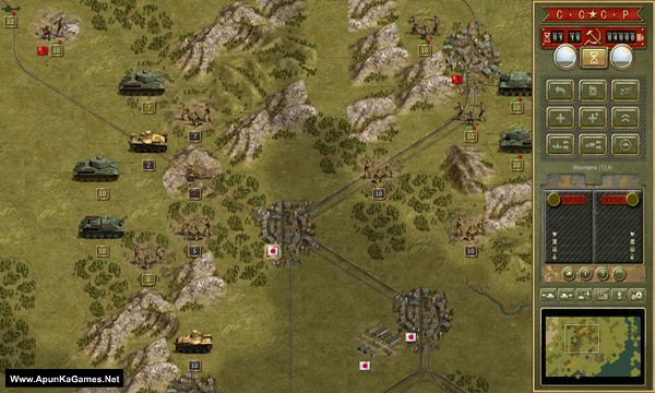 Panzer Corps: Soviet Corps Screenshot 2, Full Version, PC Game, Download Free