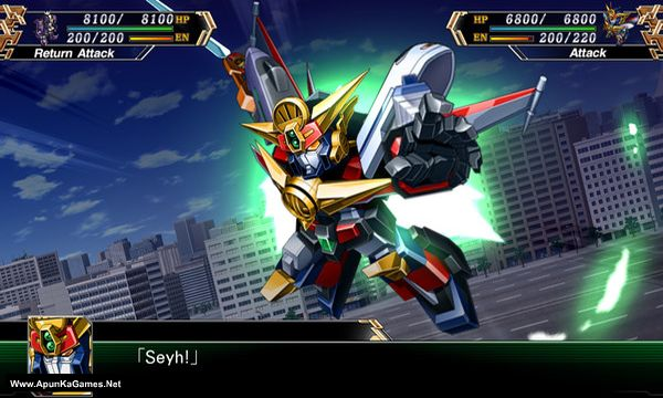 Super Robot Wars V Screenshot 1, Full Version, PC Game, Download Free