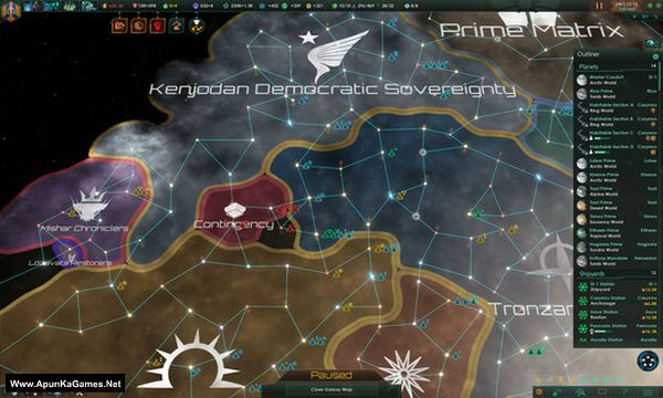 Stellaris Screenshot 1, Full Version, PC Game, Download Free