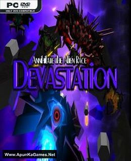 Devastation - Annihilate the Alien Race Cover, Poster, Full Version, PC Game, Download Free
