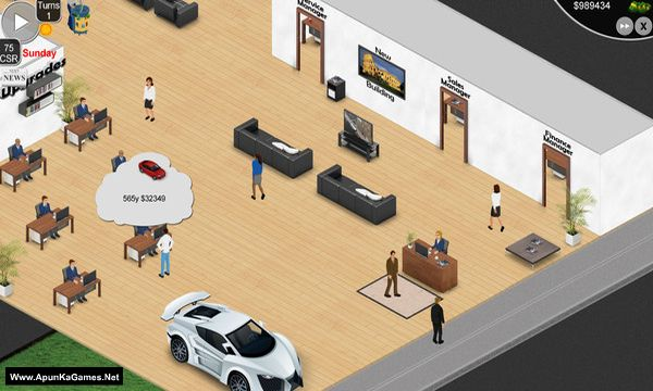 Auto Dealership Tycoon Screenshot 1, Full Version, PC Game, Download Free