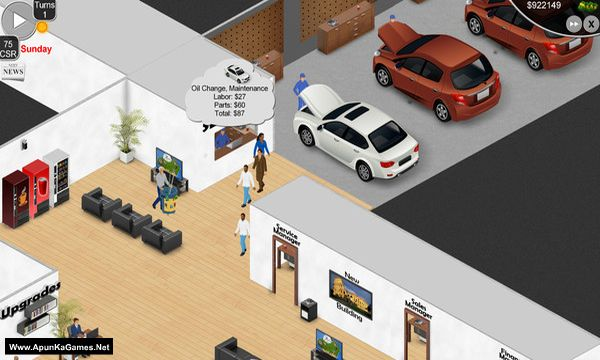 Auto Dealership Tycoon Screenshot 2, Full Version, PC Game, Download Free
