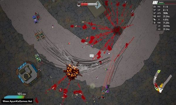Bloody Rally Show Screenshot 2, Full Version, PC Game, Download Free