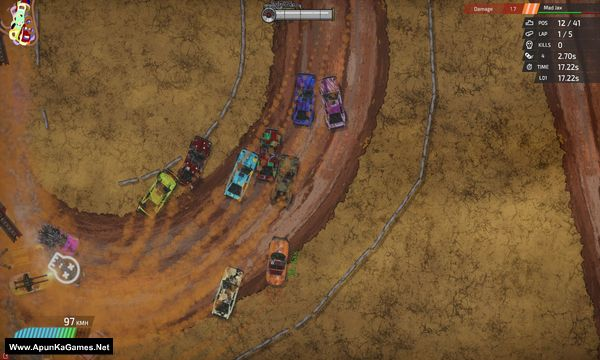 Bloody Rally Show Screenshot 3, Full Version, PC Game, Download Free