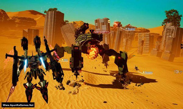 Daemon X Machina Screenshot 3, Full Version, PC Game, Download Free