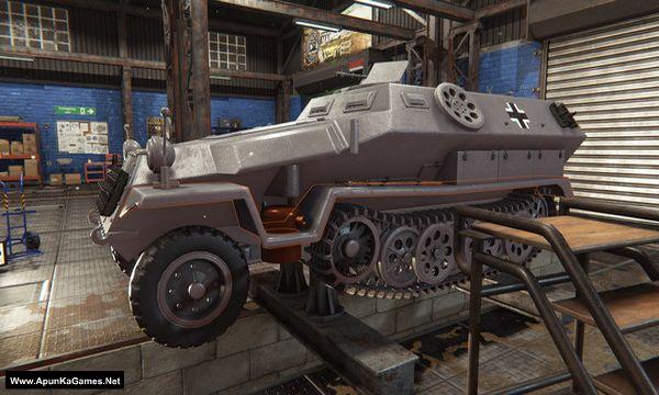 Tank Mechanic Simulator Screenshot 2, Full Version, PC Game, Download Free