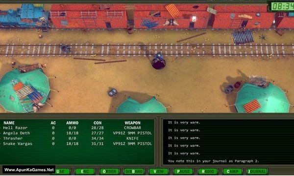 Wasteland Remastered Screenshot 2, Full Version, PC Game, Download Free