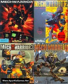 MechWarrior (1-4) Cover, Poster, Full Version, PC Game, Download Free