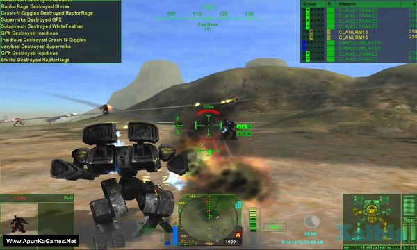 MechWarrior (1-4) Screenshot 3, Full Version, PC Game, Download Free