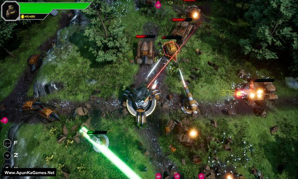 Armoured Onslaught Screenshot 1, Full Version, PC Game, Download Free
