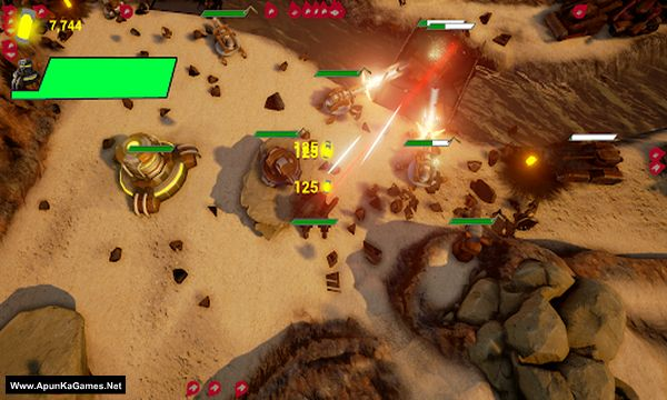 Armoured Onslaught Screenshot 2, Full Version, PC Game, Download Free
