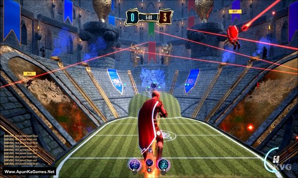 Broomstick League Screenshot 1, Full Version, PC Game, Download Free