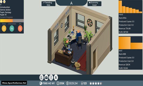 Comic Book Tycoon Screenshot 2, Full Version, PC Game, Download Free