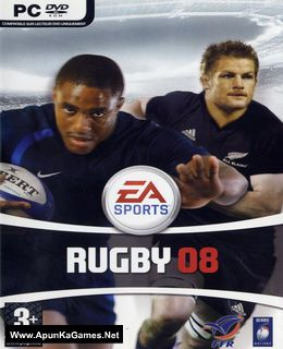 EA Sports Rugby 08 Cover, Poster, Full Version, PC Game, Download Free