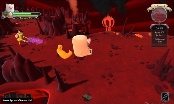 Finn and Jake's Epic Quest Screenshot 3, Full Version, PC Game, Download Free