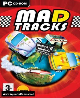 Mad Tracks Cover, Poster, Full Version, PC Game, Download Free