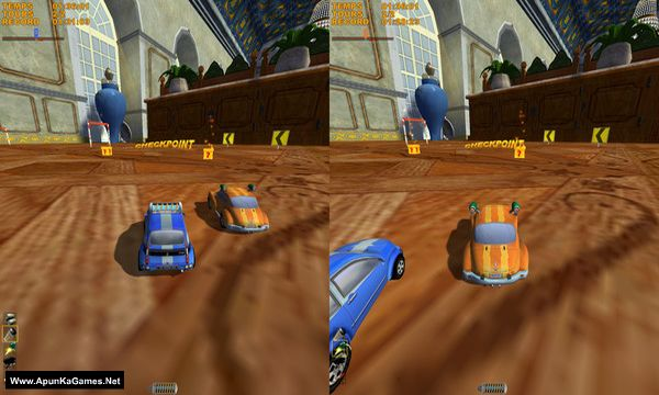 Mad Tracks Screenshot 1, Full Version, PC Game, Download Free