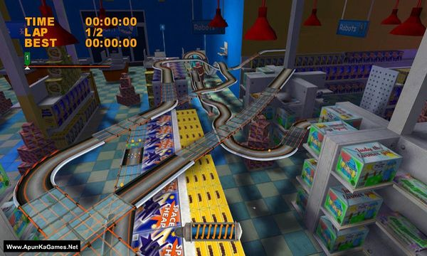 Mad Tracks Screenshot 3, Full Version, PC Game, Download Free