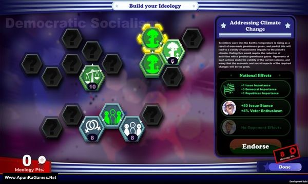 The Political Machine 2020 Screenshot 2, Full Version, PC Game, Download Free