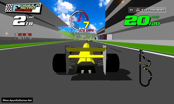 Formula Retro Racing Screenshot 3, Full Version, PC Game, Download Free