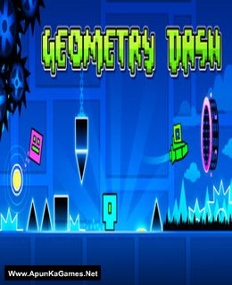 Geometry Dash Cover, Poster, Full Version, PC Game, Download Free