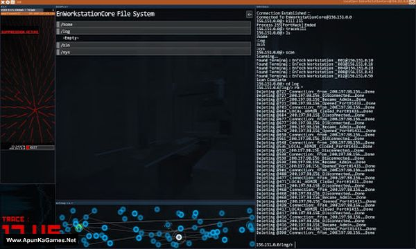 Hacknet Screenshot 1, Full Version, PC Game, Download Free
