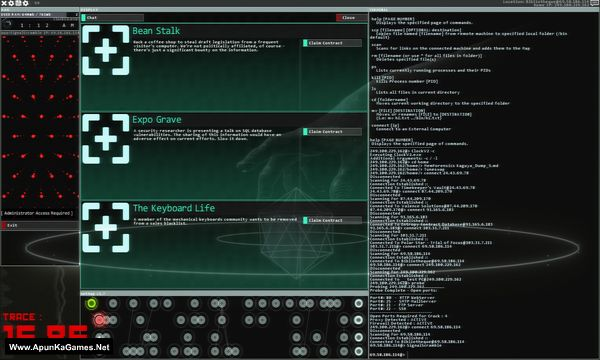 Hacknet Screenshot 3, Full Version, PC Game, Download Free