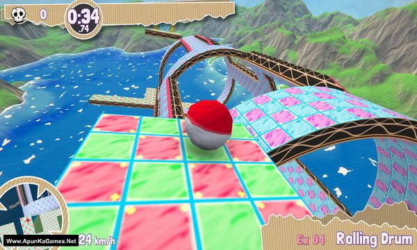 Paperball Screenshot 1, Full Version, PC Game, Download Free