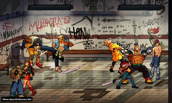 Streets of Rage 4 Screenshot 3, Full Version, PC Game, Download Free