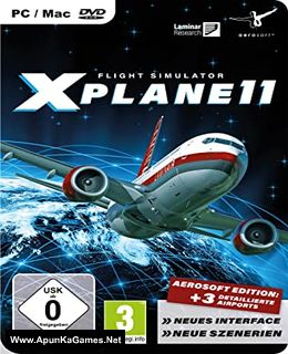 X-Plane 11 Cover, Poster, Full Version, PC Game, Download Free
