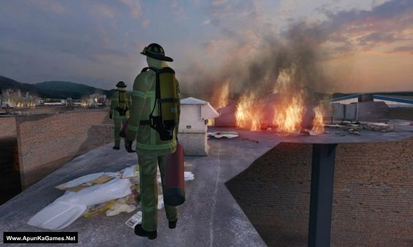 Airport Firefighters The Simulation Screenshot 1, Full Version, PC Game, Download Free