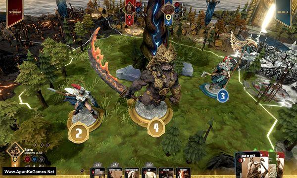 Blood Rage Digital Edition Screenshot 1, Full Version, PC Game, Download Free